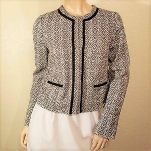 New Banana Republic Factory 6 Tweed Blazer Jacket